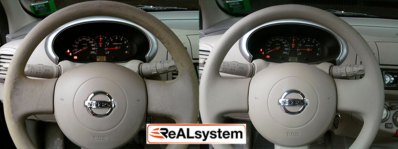 rubber steering wheel reconditioning