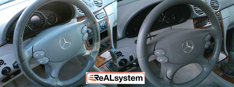 Regeneration of steering wheel and controls