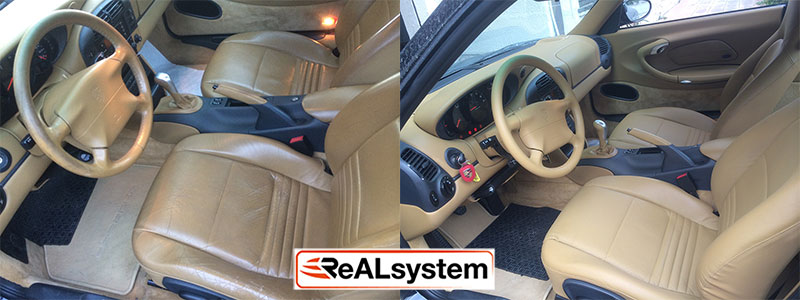 Car interior renovation
