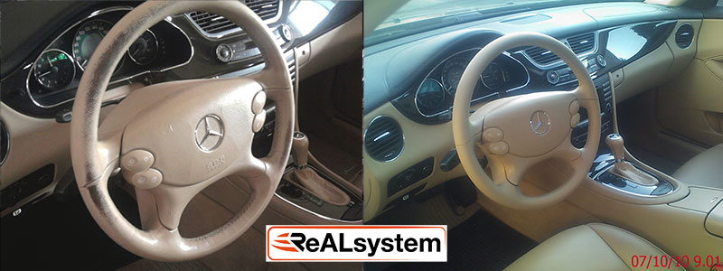 leather steering wheel regeneration